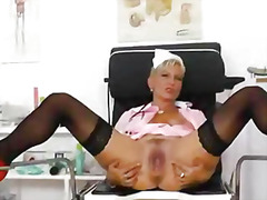 naughty, hospital, nurse, mature