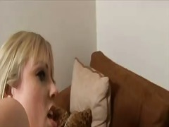 Pale blonde adrianna n... video
