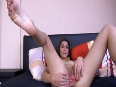 babe, brunette, blonde, masturbation