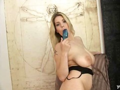 Thumb: Liana loves her vibrator