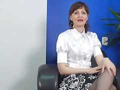 Milf with a heavy acce... video