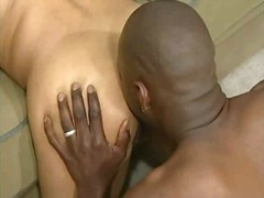 rimming, ass, gay, ebony, lick,