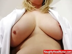 Ah-Me Movie:Blonde curvicious mature nurse