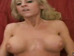 Over Thumbs Movie:Mature blonde whore rides a cock