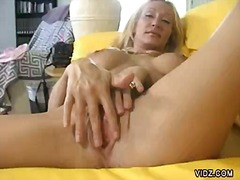 Over Thumbs Movie:Sassy blonde slut in one girl ...