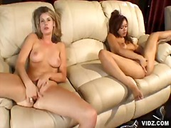 Over Thumbs Movie:Alluring blonde with dirty slu...
