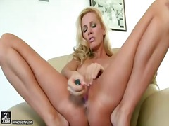 Blonde fucking herself... preview