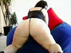 brunette, ass, mature, lingerie, big