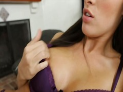 stockings, tits, big, lick, babe, pussy