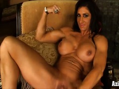 Mature female bodybuilder elisa costa...