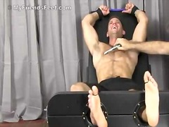 Cute guy gets bound & ...