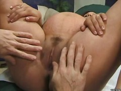doctor, clinic, couple, pregnant, white, brunette, fetish