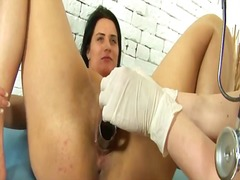 Tube8 Movie:Lesbian gynecologist and hot b...