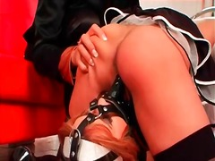 Alpha Porno Movie:French maids fuck each other w...