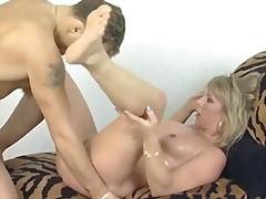hairy, german, milf, cumshot, blonde,