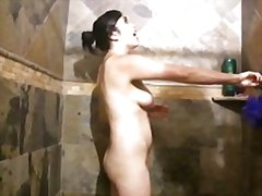 Thumb: Handjob in the shower