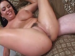 Alpha Porno Movie:Cumshots cover titties in comp...