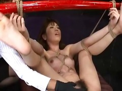 Tube8 Movie:Japanese sex slave tied to bam...