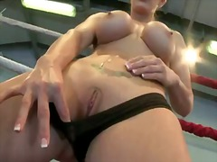 Blonde tanya tate has fire... - 07:01