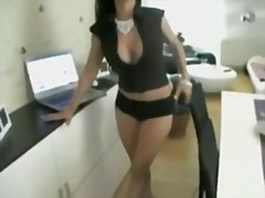 Private Home Clips Movie:Busty secretary fucked in office