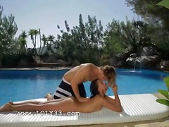 Poolside passion with ... preview