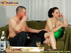 Alpha Porno Movie:Tasty russian in strapless dre...