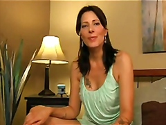 Zoey Taboo gives a hot handjobs to a lonely man cock