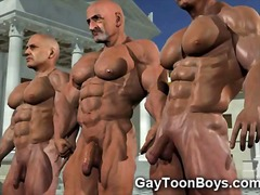 3d gays with big cocks... preview