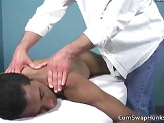 interracial, gay, massage, softcore