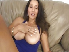 big, couple, masturbation, milf, tits