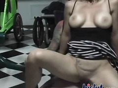 facial, boobs, cumshot, big, tattoo