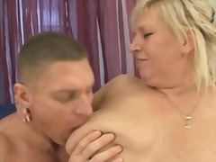 Xhamster Movie:Blonde bbw-granny fucked by yo...