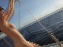 Hot girls sailing naked! preview