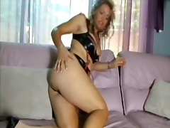 See: Milf makes herself squirt