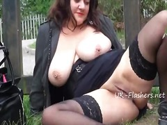 milf, exhibitionist, masturbation