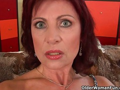 Alpha Porno Movie:Granny with hard nipples and h...