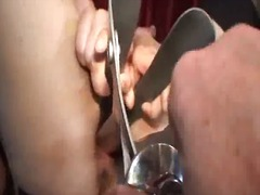 Ah-Me Movie:Huge vaginal gaping with specu...