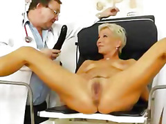 Thumb: Blondes mamma gyno in ...