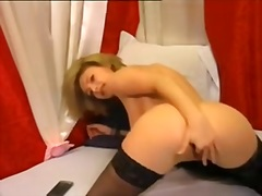 Private Home Clips Movie:blonde in nylons