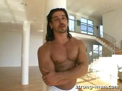 Latin hunk solo wanking video