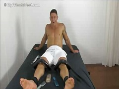 Hot guy gets teased in thr... - 20:29