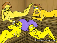 Simpsons sex preview