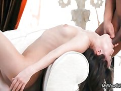 Sensual girl loves suc... video