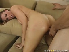 Big-titted chick devon lee gives an anal wake up call to the giant rod
