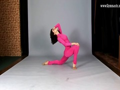 Hot pink spandex on se... video