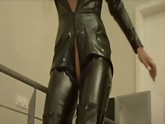 Latex anal and creampie - Xhamster