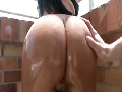 See: Fat ass oiled up and s...