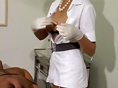nurse, handjob, stockings, pornstar