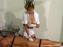 heels, nurse, stockings, british, pornstar, lady sonia, uniform, kinky, kink, handjob