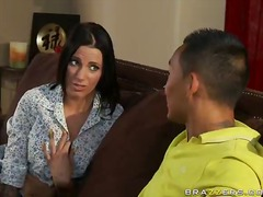 The creamy cumload onto her titties for juelz ventura